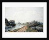 Canal, Rickmansworth, 1908 by John William Buxton Knight