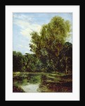 Corner of Hampstead Ponds by John Constable