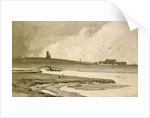 Blakeney Church and Wiveton Hall, 1818 by John Sell Cotman
