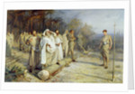 Fixing the Site of an Early Christian Altar, 1884 by John Pettie