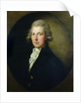 Portrait of William Pitt the Younger by Gainsborough Dupont