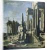 Imaginary Ruins by Leonardo Coccorante