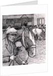 Horse Fair at the Barbican, 1913 by Robert Polhill Bevan