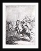 A Cavalry Fight by Rembrandt Harmensz. van Rijn