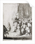 Presentation in the Temple by Rembrandt Harmensz. van Rijn