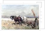 Harvesting by Nathaniel Hughes John Baird
