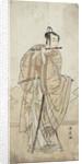 An Actor Playing a Flute by Katsukawa Shunsho