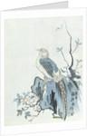 Bird on a Rock by Japanese School