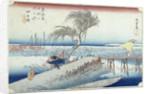 The Hurricane by Ando or Utagawa Hiroshige