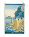 Caves at Enoshima, Sagami Province by Ando or Utagawa Hiroshige