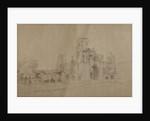 Kirkstall Abbey, 1801 by Joseph Farington
