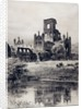 Kirkstall Abbey from the South-East, 1899 by Axel Haig