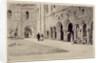 The Cloister, Kirkstall Abbey, 1893 by Axel Haig