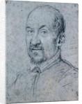 Portrait of an Ecclesiastic by Ottavio Mario Leoni