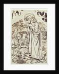 The Sermon on the Mount by Dante Gabriel Rossetti