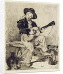 The Guitarist by Edouard Manet