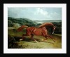 Galloping Horse in a Landscape by John Frederick Herring Snr