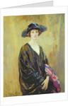 Portrait of Dorothy Una Ratcliffe by Ambrose McEvoy