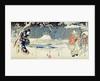 Snow Scene in the Garden of a Daimyo by Hiroshige