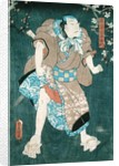 Detail of Character Five from 'Five Characters from a Play by Toyokuni' by Utagawa Kunisada