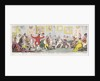 Princely Amusements or The Humors of the Family, 1812 by George Cruikshank