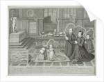 The Darnley Memorial, engraved by George Vertue by Livinus de Vogelaare