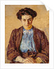 The Blue Blouse, Portrait of Elene Zompolides by Harold Gilman
