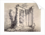 Temple of the Sibyl, Tivoli by Joseph Mallord William Turner