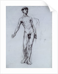 Nude Young Man by Sir William Orpen