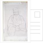 A Rabbi, 1912 by Sir William Rothenstein