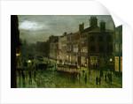 Briggate, Leeds, 1884 by Wilfred Jenkins