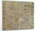 Plan of Leeds, surveyed by John Cossins, c.1730 by English School