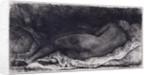 Negress Lying Down, 1658 by Rembrandt Harmensz. van Rijn