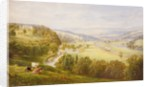 Valley of the Aire, Armley Pastures and Kirkstall, 1853 by George Alexander