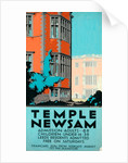 Poster design for Temple Newsam by W. D. Suddaby