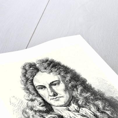 Gottfried Wilhelm Leibnitz by Anonymous
