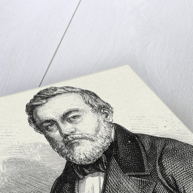 Charles Etzel Creator of the Railways of Wurtemberg by Anonymous