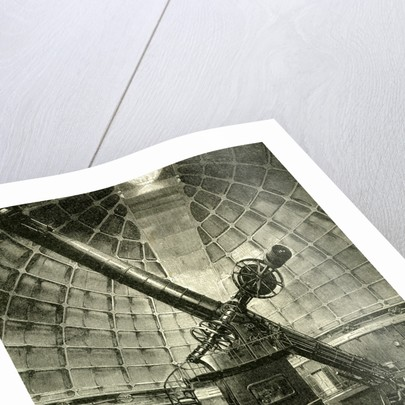 California the Largest Telescope in the World 1891 USA by Anonymous