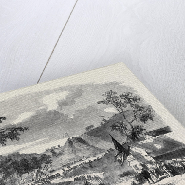 The Victorian Government Railways Laying the First Stone of Jackson's Creek Viaduct by Anonymous