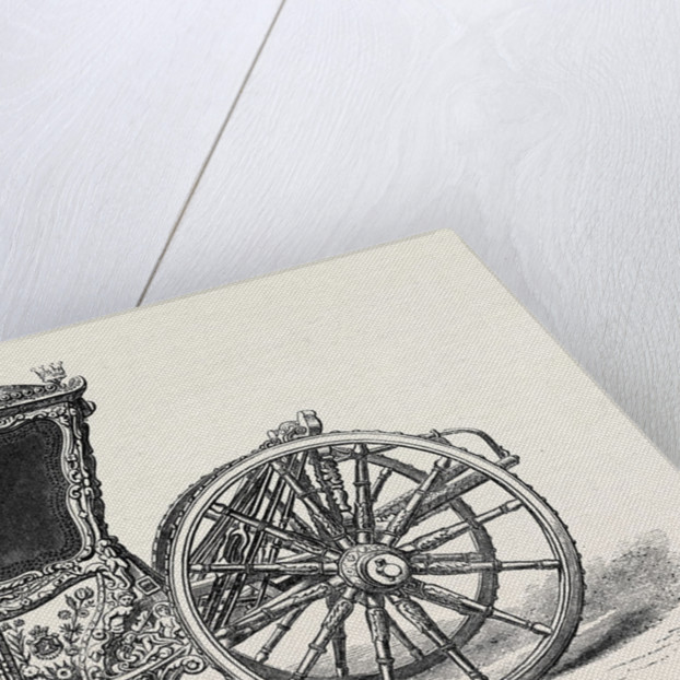 The Loan Collection South Kensington Museum: Carriage of the Eighteenth Century Lent by the Earl of Darnley 1869 by Anonymous