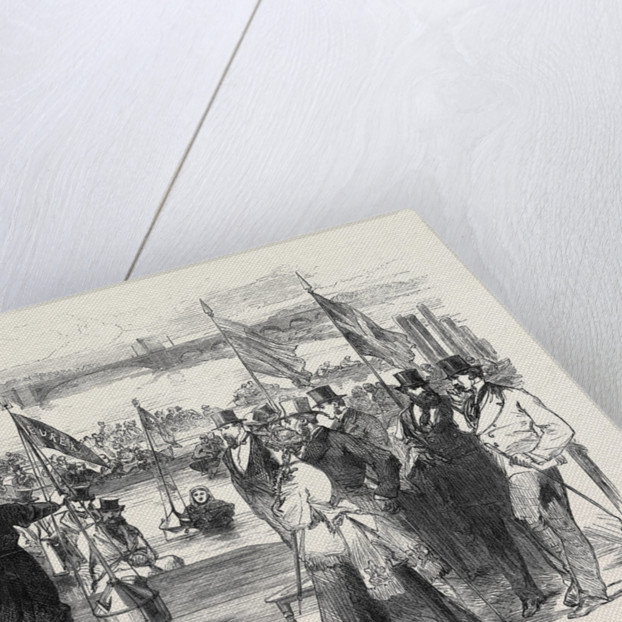 Experiments with New Life-Saving Apparatus on the Thames UK 1869 by Anonymous