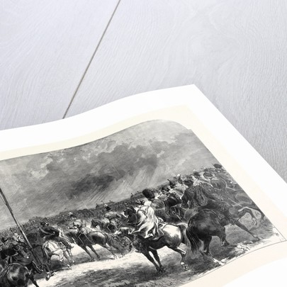Review of the Guards and Volunteers Last Saturday on Wimbledon Common UK 1867 by Anonymous