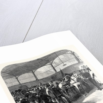 Official Inspection at Woolwich of the Mountain Battery for the Abyssinian Expedition UK 1867 by Anonymous