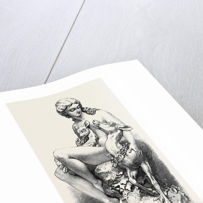 A Wood Nymph, Presented Tothe Members of the Art-Union of London UK 1867 by Anonymous