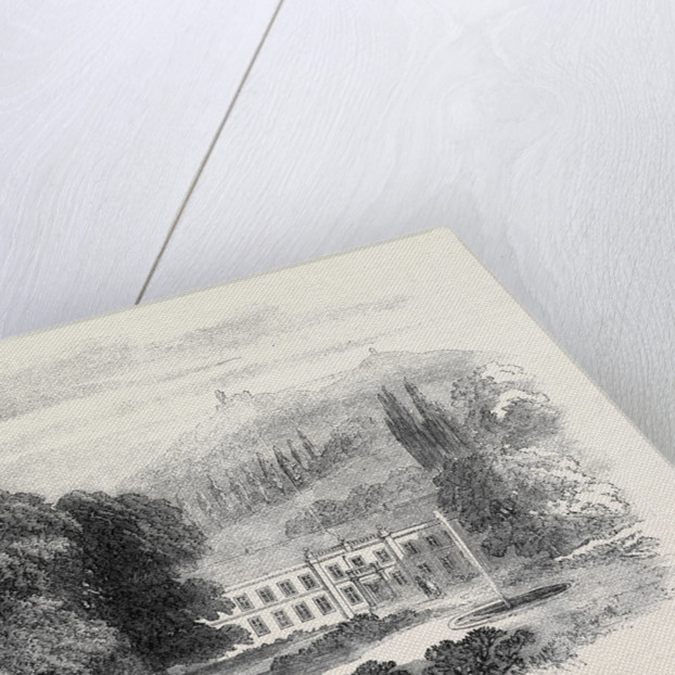 Fürstenlager a Seat of the Duke of Hesse-Darmstadt Near Auerbach 1862 by Anonymous