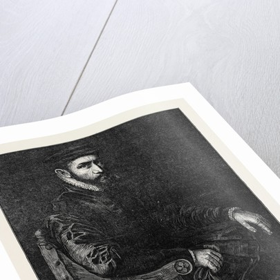 Sir Thomas Gresham, in the National Portrait Exhibition South Kensington London UK by Anonymous