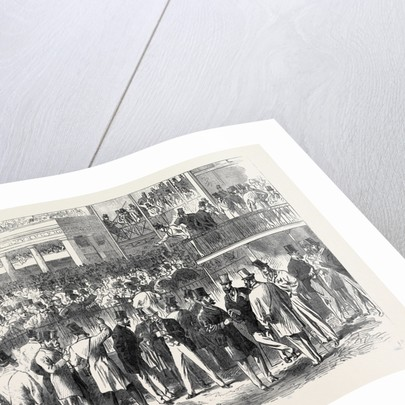Ascot Races: The Betting Ring at Ascot UK 1866 by Anonymous