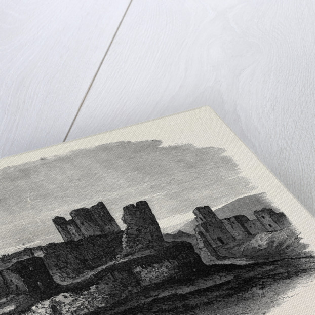 Royal Archaeological Institute in Wales: Caerphilly Castle 1871 by Anonymous