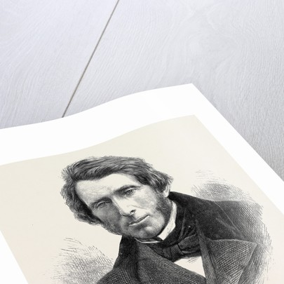 Mr. John Ruskin 1871 by Anonymous