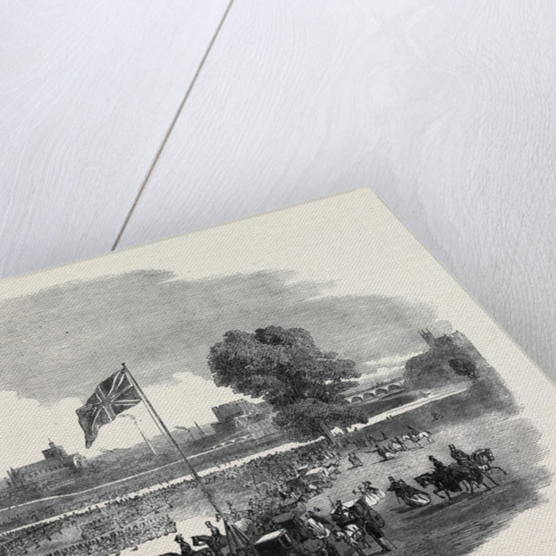 Review of the Cumberland Rifle Volunteers in Rickerby Park Carlisle by Anonymous